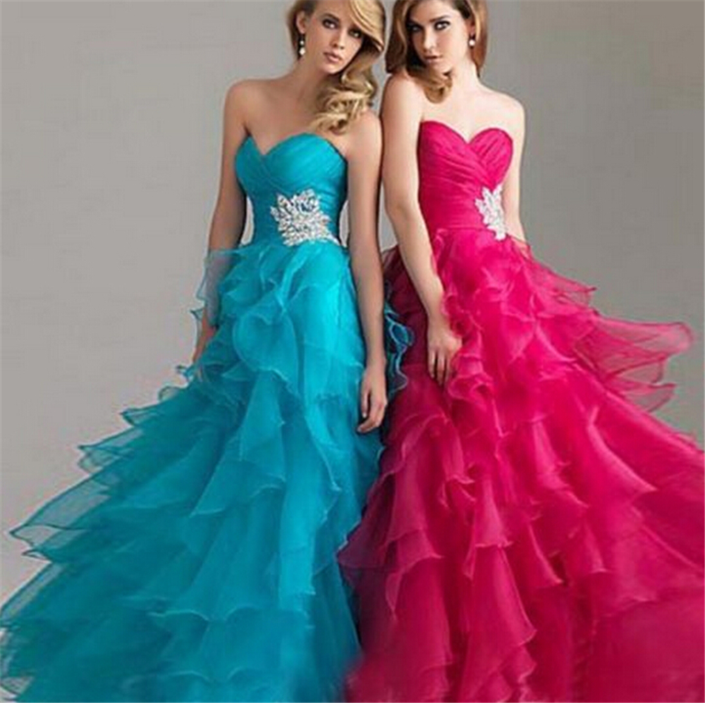 Cheap Hot Pink Prom Dresses