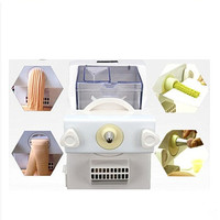 220V Electric Biscuit Maker Machine Household Cookies Noodles Maker With Noodles And Cookies Decorating Nozzle Mold EU/AU/UK/US