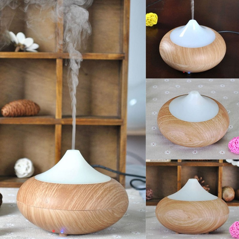 Warmtoo High Quality Air Humidifier Purifier Essential Oil Aromatherapy 100ML Wood Grain LED Ultrasonic Aroma Diffuser hot sale humidifier aromatherapy essential oil 100 240v 100ml water capacity 20 30 square meters ultrasonic 12w 13 13 9 5cm