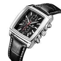 Men's watches Swiss three eye waterproof sports watch