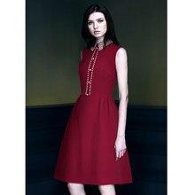 587207d301688 Burgundy Dress Pearls Promotion-Shop for Promotional Burgundy Dress ...