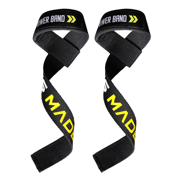6343129805be Weight Lifting Straps heavy deadlifts Sillicone Lifting Straps Wraps  Fitness Wrist Support Workout Wrist Support Wraps