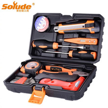 16pcs Home Gifts Hardware Kit Tools Electrician Repair Toolbox Multi-function Combination Set Tool