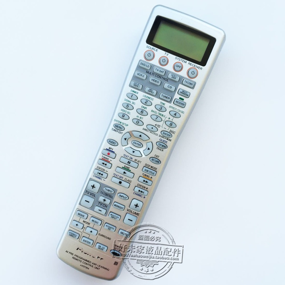 Original remote control REPLACEMENT AXD7364 For Pioneer XXD3128 XXD3107 XXD3106 XXD3086 XXD3129 power amplifier remote control