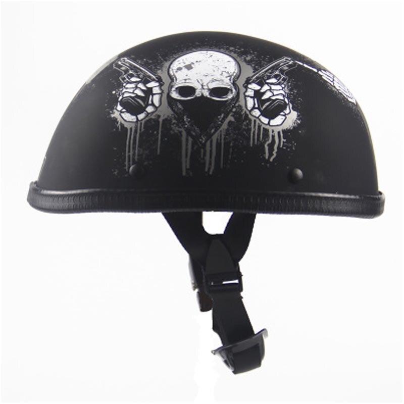 New arrive motorcycle half helmet vintage harley style helmet men women motorbike motos helmet for summer