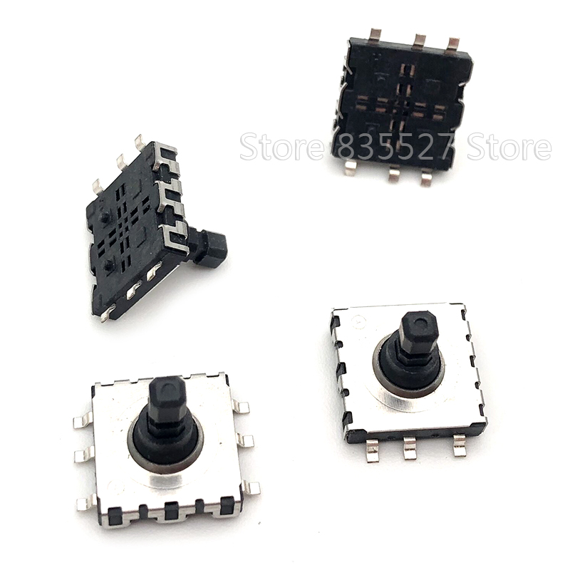 50pcs/lot 10*10*9 SMD 5 Five Way Switch 10 * 10 * 9 MM Multi-function Multi Direction Switch Touch Reset Button