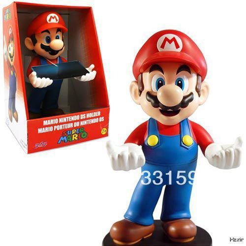 Hot Sale Super Mario Brothers Nintendo 3DS DSi DS Lite Holder 12 Action Figure New F4F For Christmas Gifts Free Shipping