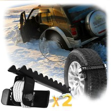 EZUNSTUCK Tire Anti Skid Tool RWD/AWD/4x4 SUV, Trucks, Pickup EZ D02LX , Sand, Snow, Ice, Better Than Traction Mat, Tire Chains