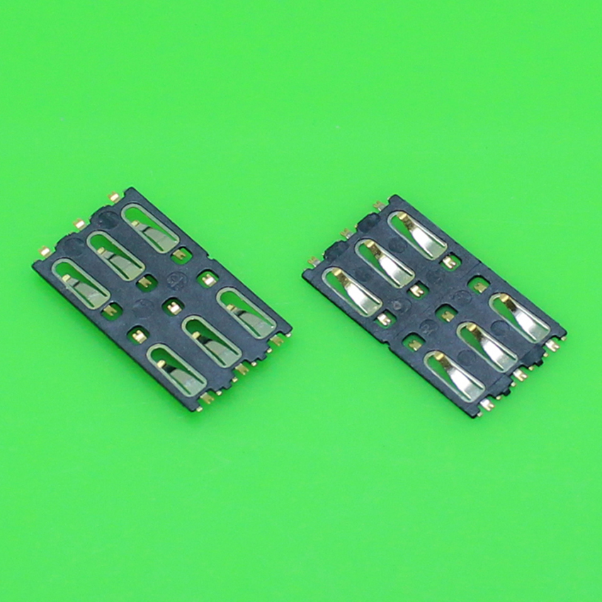 ChengHaoRan 1 Piece High quality sim card socket holder tray slot connector for samsung for lenovo and for coolpad so on.KA-194