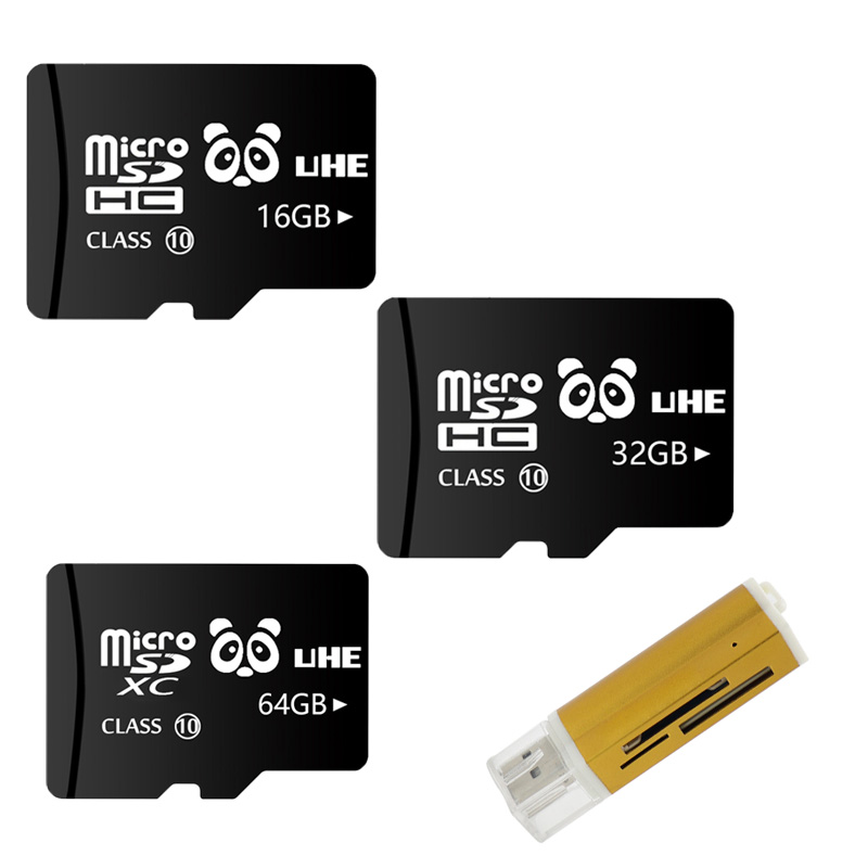 2019 Hot Sale Memory Card 64G Micro SD 32G Flash TF Carte 16GB Microsd 8GB Flash Memory Stick with card reader Free shipping