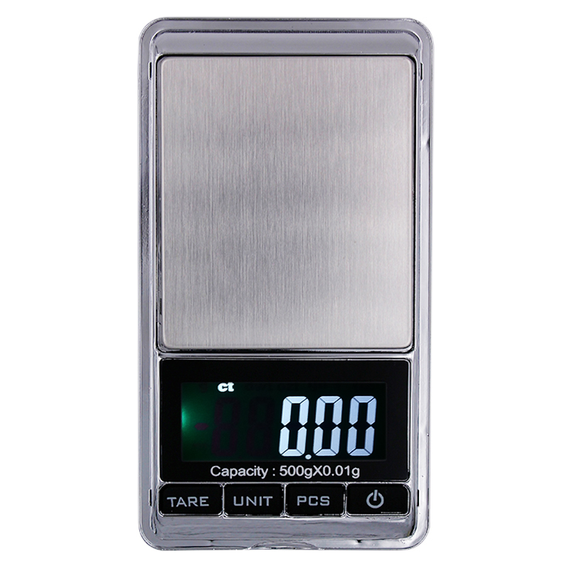 500g 0.01g Mini Electronic Digital Scale Jewelry weight Balance Pocket weighing gram scales  20%off