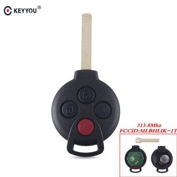 Chiave Telecomando per MERCEDES BENZ Smart Fortwo 2005 -2015 Fob 315MHz