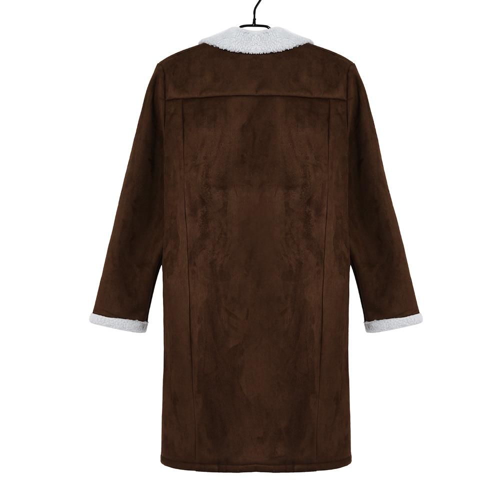 JAYCOSIN Men's Wool Warm Winter Trench Long Outwear Button Smart Overcoat Coats waterproof windproof winter jacket men 1