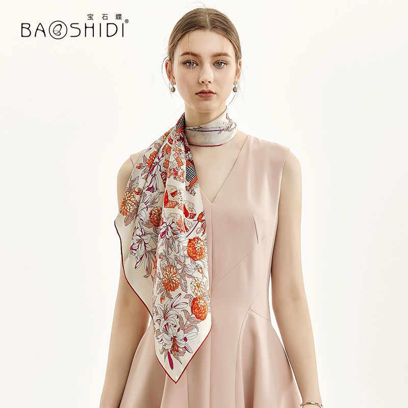 BAOSHIDI]2019 New Fashion Double face neckscarf,100% Twill