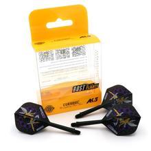 CUESOUL JAZZ-METAL AK5 Integrated Dart Shaft and Flights,Set of 3