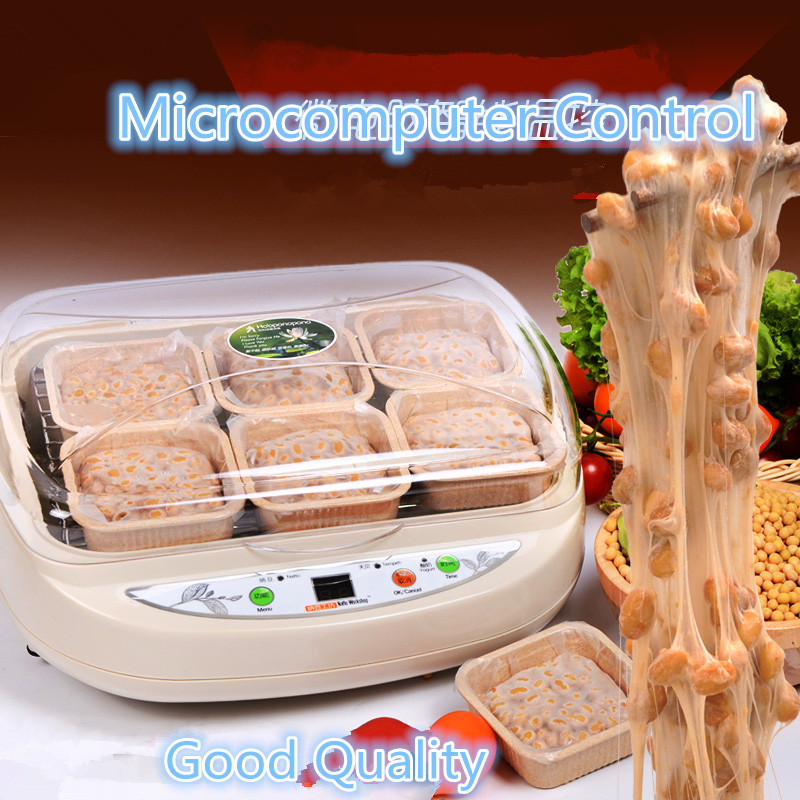 220V Intelligent Electric Automatic Natto  Maker Machine Microcomputer Control Beans Fermenting Machine For Healthy Food amelia jeanroy fermenting for dummies
