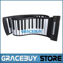 USB MIDI Roll Up Foldable Electric Piano Folding 88 Keys189 Tone Portable Rubber Keyboard Electronic Rollup Pianos