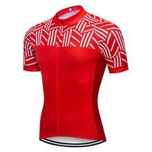 цена на Men 2019 Cycling Jersey Pro team Summer Short Sleeve Downhill MTB Bicycle Clothing Ropa Ciclismo Maillot Quick Dry Bike Shirt