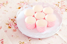 30 pcs Iron Lace delicate cake pan dessert disc dish meal salad plate glass tray cupcake for wedding decor