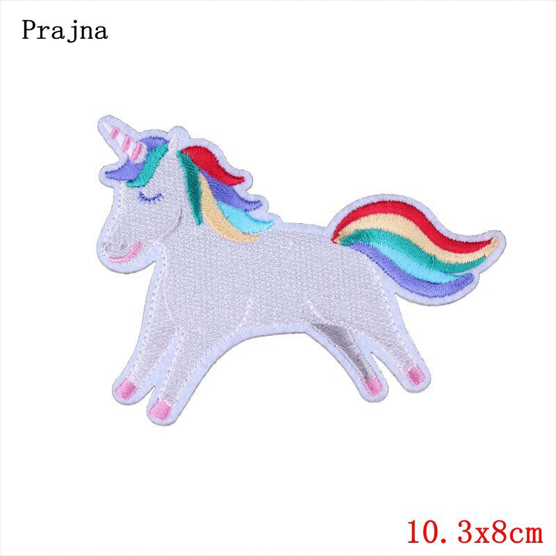 Prajna Panda perro caballo Patch hierro en parches de dibujos ...