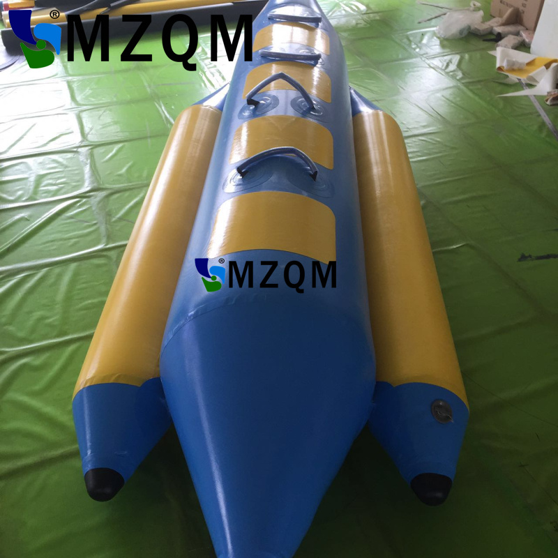 MZQM 4 persons use Inflatable Sea Games Inflatable Flyfish Banana Boat For Advanture inflatable seats water games