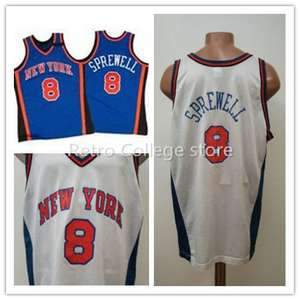 wholesale latrell sprewell golden state warriors authentic stitched