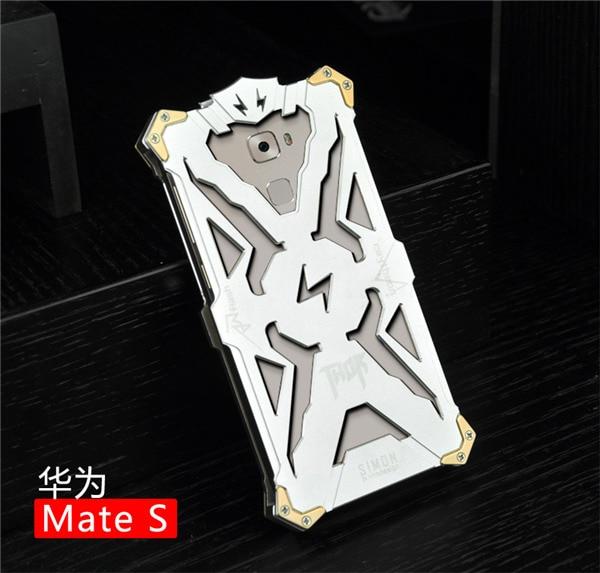 Nueva caliente de alta calidad de metal de aluminio de lujo case para huawei mat