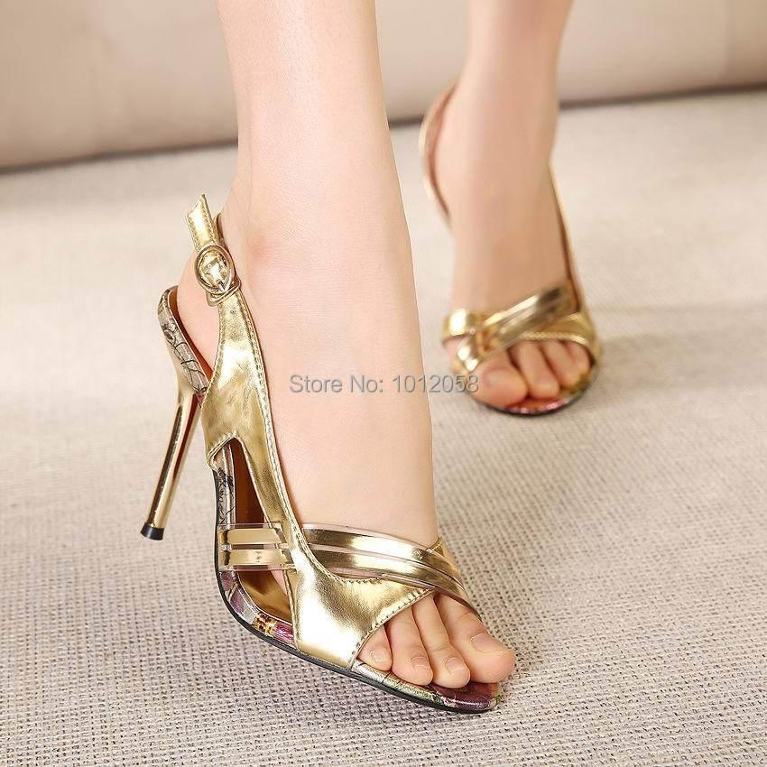 Womens Ladies Evening High Heels Party Sandals Glitter Strappy Stilettos Shoes