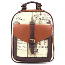 Woweino Excellent Quality 2016 New Fashion Women Fashion Simple Satchel Backpack Rucksack Shoulder School Free Shipping