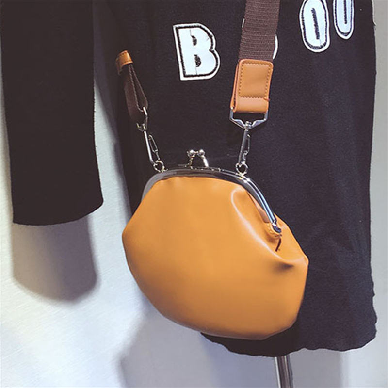ФОТО Women's Leather Handbags 2017 Vintage Shoulder Bags For Ladies Lock Women Messenger Bags Shell Bag