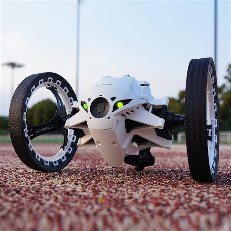 New Funny RC Car 4CH 2.4GHz Jumping Sumo Bounce Car Flexible Wheels Remote Control Robot Car Toys For Children Kids Gift