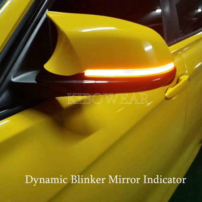 Dinamica Blinker Indicatori di Direzione A LED per BMW F20 F30 F31 F21 F22 F23 F32 F33 F34 X1 E84 F36 1 2 3 4 F87 M2 luce