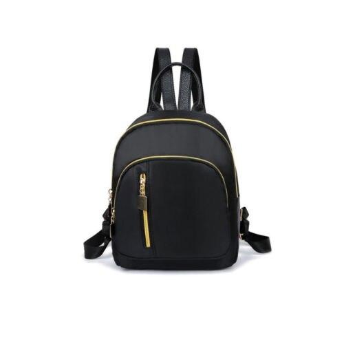 Women Girls Black Nylon Mini Backpack Travel School Backpacks Shoulder Bags Ladies Satchel Rucksack Bagpack Bags For Women 2019Women Girls Black Nylon Mini Backpack Travel School Backpacks Shoulder Bags Ladies Satchel Rucksack Bagpack Bags For Women 2019