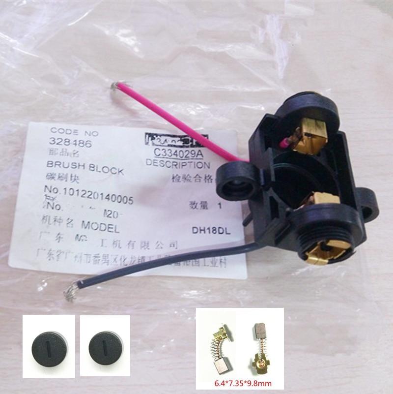 Carbon Brush Holder For HITACHI 328486 DH24DVC DH18DSL DH18DMR DH18DL DH14DSL DH14DMR DH14DL
