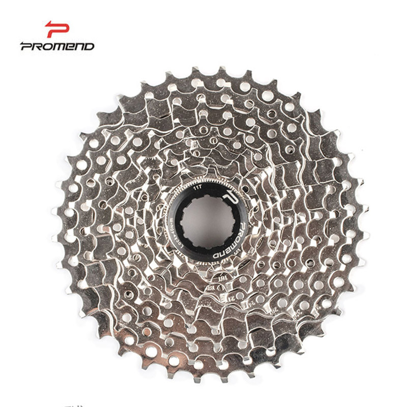 10 Speed Cassette 11-42 T Wide Ratio Freewheel Mountain Bike MTB Bicycle Cassette Flywheel Sprocket Compatible with Sunrace image