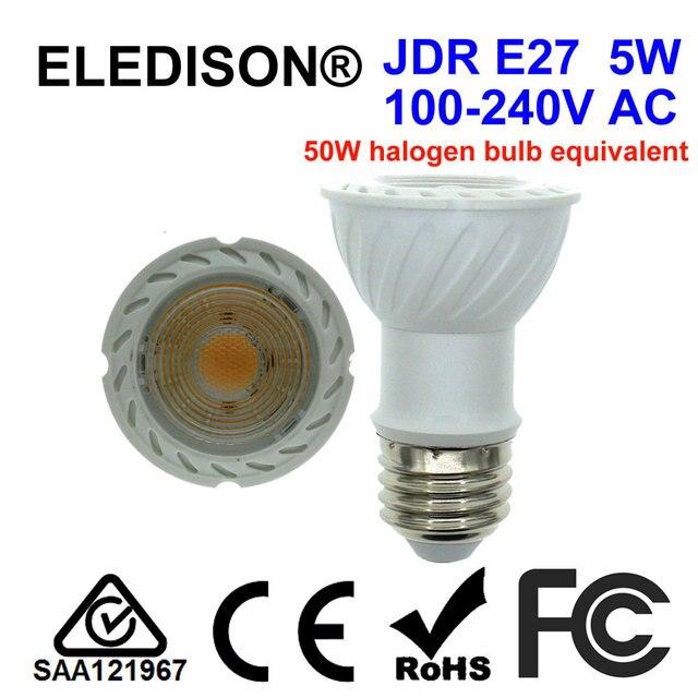 Jdr E27 E26 5w Led Bulb Long Neck 75mm 120v Track Lighting Household Kitchen Stove Range Hood Dacor Zephyr Hoods