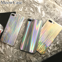 For iPhone X 6 6s 7 8 plus cover case silicone soft TPU colorful glossy phone cases for iPhone 5 5s SE case luxury fashion cover