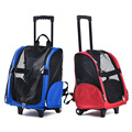 Mutifunctional Dog Cat Carrier Backpack Bag For Travel Breathable Pet Carrier Trolley Dog Puppy Kitten Pet Product