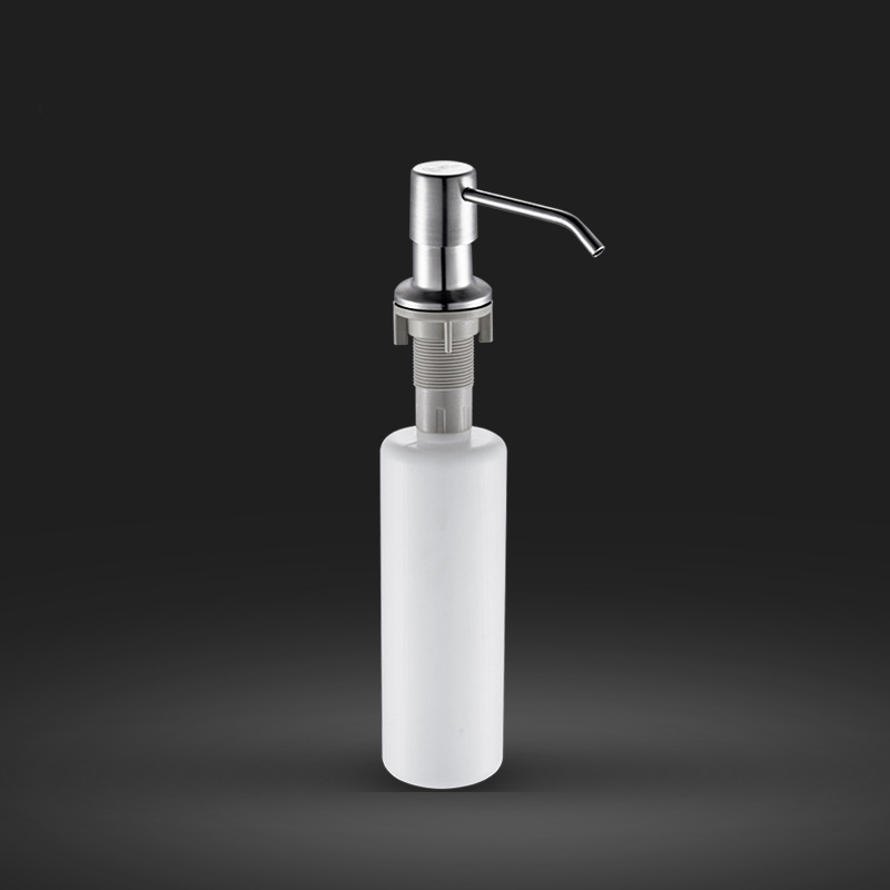Cheaper 304 Stainless Steel Liquid Soap Dispenser Kitchen Sink Soap Box Free Shipping Soap Bottle