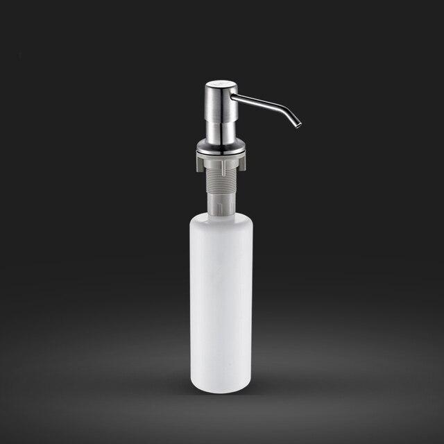 Cheaper 304 Stainless Steel Liquid Soap Dispenser Kitchen Sink Soap Box  Free Shipping Soap Bottle-in Kitchen Soap Dispensers from Home Improvement  on ...