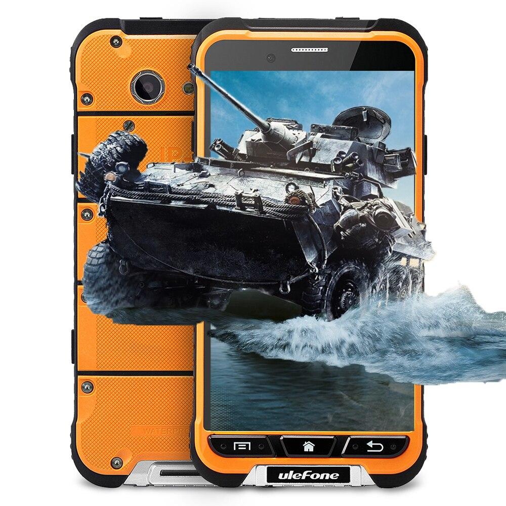 bilder für Ulefone RÜSTUNG 4,7 Zoll 4G Smartphone Android 6.0 MTK6753 Octa Core 1,3 GHz Handy 3 GB + 32 GB 13MP IP68 Staubdicht Handy