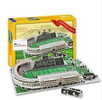 Кэндис Го 3D DIY игрушка-головоломка бумаги модель здания Спорт Estadio Васко да Гама стадион Футбол Соберите игры подарок 1 компл.