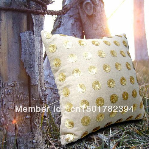 Hemp Handmade Beading Pillow Wedding Gifts Birthday Gift New Homes Decoration Accessories