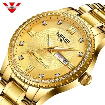 NIBOSI Men Watches Automatic Mechanical Watch Tourbillon Sport Clock Casual Business Wristwatch Waterproof Relogio Masculino
