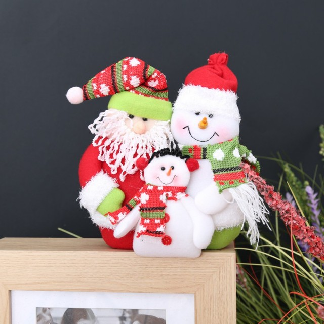 Frohe Weihnachten Familie.Us 6 06 26 Off Santa Claus Schneemann Weihnachten Frohe Weihnachten Santa Claus Schneemann Ornament Weihnachten Familie Porträt Flanell Lappen