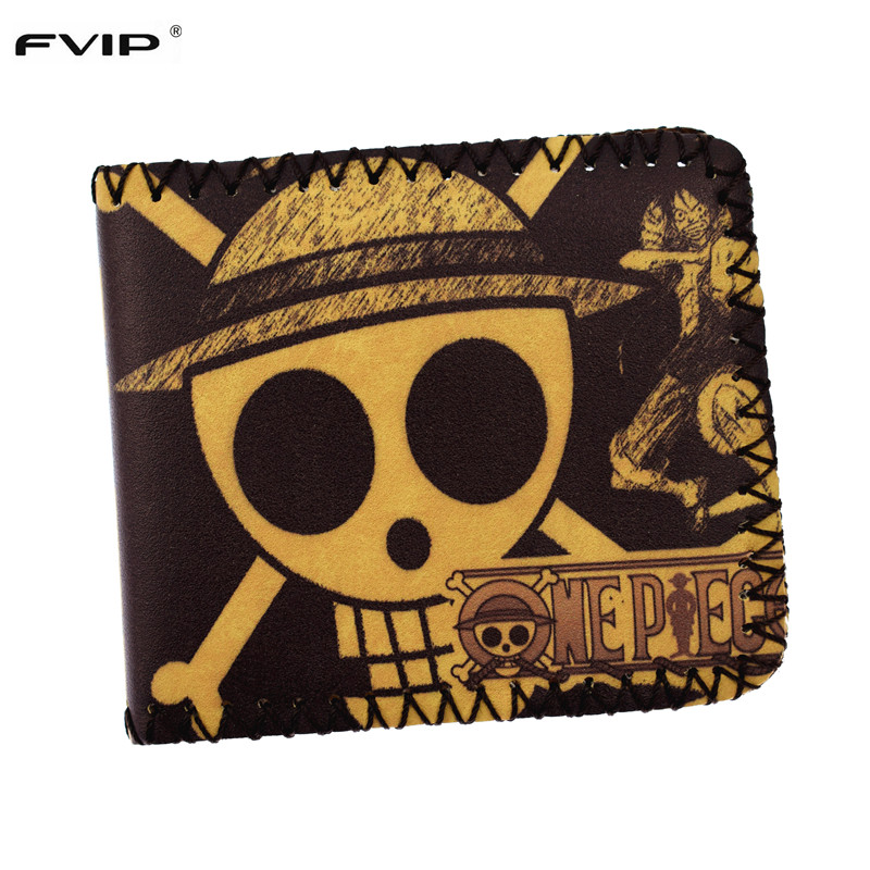 Birthday Gift Cute Cartoon Wallet One Pieces Tokyo Ghoul Detective Conan Card Holder Men Wallet  Short Pures Student wallet