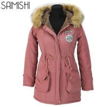autumn parkas winter jacket women coats    casual long down cotton wadded lady woman fashion warm