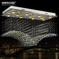 High Quality K9Crystal Chandelier GU10 Crystal Luxurious Lamp Lighting Fixture For Home Decoration Hotel Project For