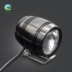 Onature electrical bike light headlight 100 lux input DC6V 12V 36V 48V meet Stvzo standard aluminum housing led ebike light