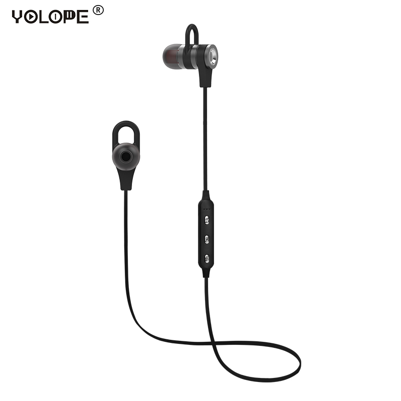 YOLOPE Sport Hifi Mini Earbuds Auricular Wireless Headphone Bluetooth Earphone For Phone iPhone With Microphone In-ear Earpieces kz wired in ear earphones for phone iphone player headset stereo headphones with microphone earbuds headfone earpieces auricular